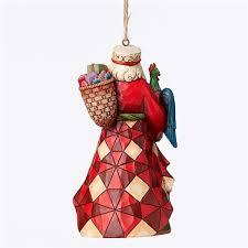 heartwood creek santa around the world ornament by jim
