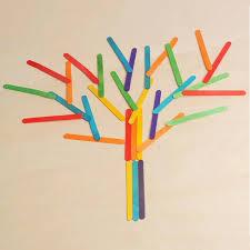 where can i buy lollipop sticks new 50 pcs wooden lollipop popsicle sticks party kids crafts