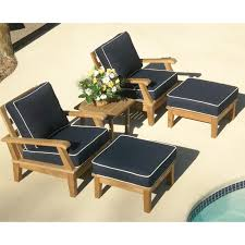 Most Comfortable Chair For Reading by Royal Teak Miami Reclining Outdoor Sofa Hayneedle