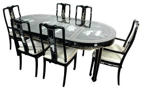 Lacquer Dining Room Sets Lacquer Dining Table Dining Room Table And Chairs