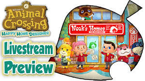 Home Designer by Animal Crossing Happy Home Designer Livestream Preview English