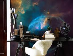 28 outer space wall murals space wall murals examples outer space wall mural photo wallpaper happywall outer space wallpaper feature wall for toddlers by catherine