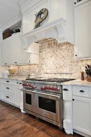 ideas for backsplash for kitchen best 25 rustic backsplash ideas on kitchen brick