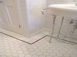 Tile Floor In Bathroom Furniture Modern Concept White Tile Floor Bathroom Floors 16