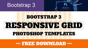 bootstrap 3 responsive grid photoshop templates psd ben stewart
