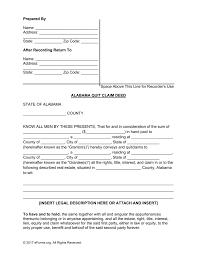 free alabama quit claim deed form pdf word eforms u2013 free