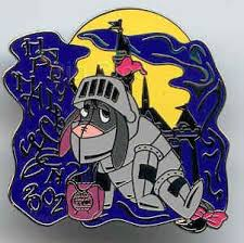 disney eeyore as knight halloween pin hunt pin pins for sale