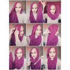 tutorial hijab paris zaskia 25 kreasi tutorial hijab paris simple terbaru 2018