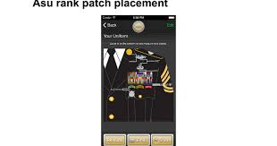 asu rank patch placement google docs