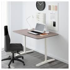 bureau gris blanc bekant bureau gris blanc 120x80 cm ikea