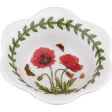portmeirion botanic garden dip bowl set of 2 poppy louis potts