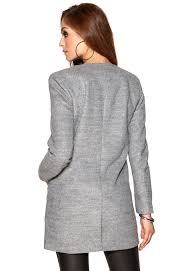 light grey wool coat only sidney wool coat light grey melange bubbleroom