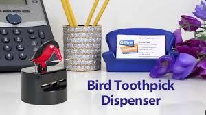 bird toothpick dispenser toothpick bird toothpick dispenser youtube