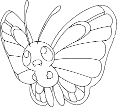 butterfree coloring page and pokemon coloring pages shimosoku biz