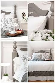 annie sloan french linen headboard makeover salvaged inspirations