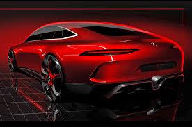 mercedes amg concept four door mercedes amg gt concept teased ahead of geneva motor trend
