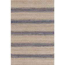 Rug Jute Jute Ticking Natural Woven Rug Dash U0026 Albert