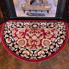 chic fire resistant rug delightful design flame resistant hearth