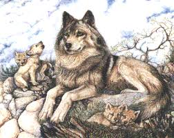 wolf and cubs pin wolf pups tattoos on
