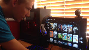 lit pc gaming setup gabisness pc gaming setup tour youtube