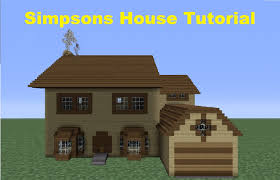 Small Houses To Build by Minecraft 360 How To Build The Simpsons House House Number 4