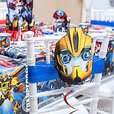 transformers birthday decorations transformers chair deco diy table decorating ideas