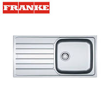 FRANKE SPARK SKX  Stainless Steel  Bowl Sink PopUp Waste - Kitchen sink pop up waste