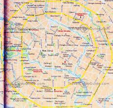 map of roads china chengdu map tourist attractions hotels roads