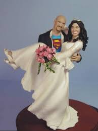 superman wedding cake topper bizzare unique news 10 wedding cake toppers