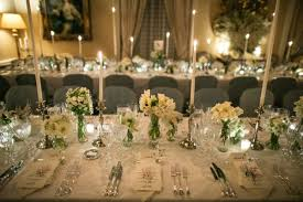 wedding table setting exles wedding table decorations with flowers and candles home design 2017