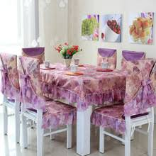 Dining Table Chair Covers Popular Table Chair Cover Buy Cheap Table Chair Cover Lots From