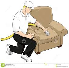 clean chair upholstery upholstery cleaning tech clip stock illustration illustration