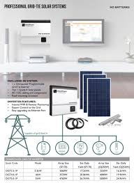 compact solar systems u0026 diy solar kits sinetech