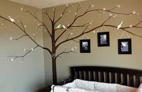 rk brushworks cherry blossom tree and birds nursery