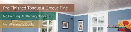 ready pine pre finished tongue u0026 groove pine