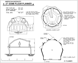 floor planners geodesic dome home plans aidomes