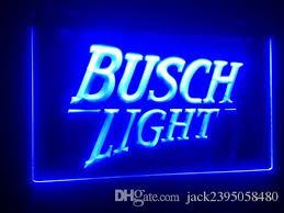 busch light neon sign b99 busch light 2 size beer bar pub club 3d signs led neon light
