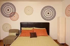 Wall Stencils For Bedrooms | bedroom decorating idea modern stencils by cutting edge stencils
