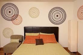 Wall Stencils For Bedroom | bedroom decorating idea modern stencils by cutting edge stencils