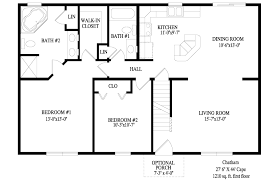 Cape Floor Plans by Cape U2013 Chatham Montage Mountain Homes