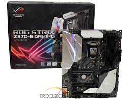 asus rog strix z370 e gaming motherboard review proclockers