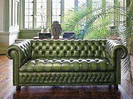 Tufted Leather Sofa Bed Pin By Sydney On Office Pinterest Green Interior Design