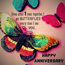 1st Anniversary Wishes Messages For Wife First Anniversary Wish For Your Girlfriend Even After One Year