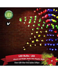 bright star led christmas lights outdoor led star net 2x2m 160pc multicoloured x outbaxcing