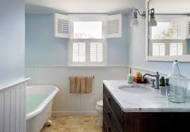 Contemporary Cornice Boards Cornice Board Shutter Ideas Bathroom Beach Style With Beadboard