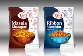 packaging design modern upmarket packaging design for tasty world pvt ltd by