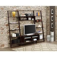 4d concepts arlington dark cappuccino shelved entertainment center