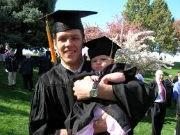 infant graduation cap and gown family after baby graduation cap and gown directions