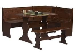 Banquette Furniture Ebay Nook Dining Set Corner Booth Cottage Dinette Wood Table Bench Ebay