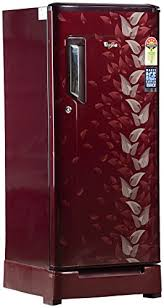 Whirlpool French Door Refrigerator Price In India - whirlpool 190 l 5 star direct cool single door refrigerator 205